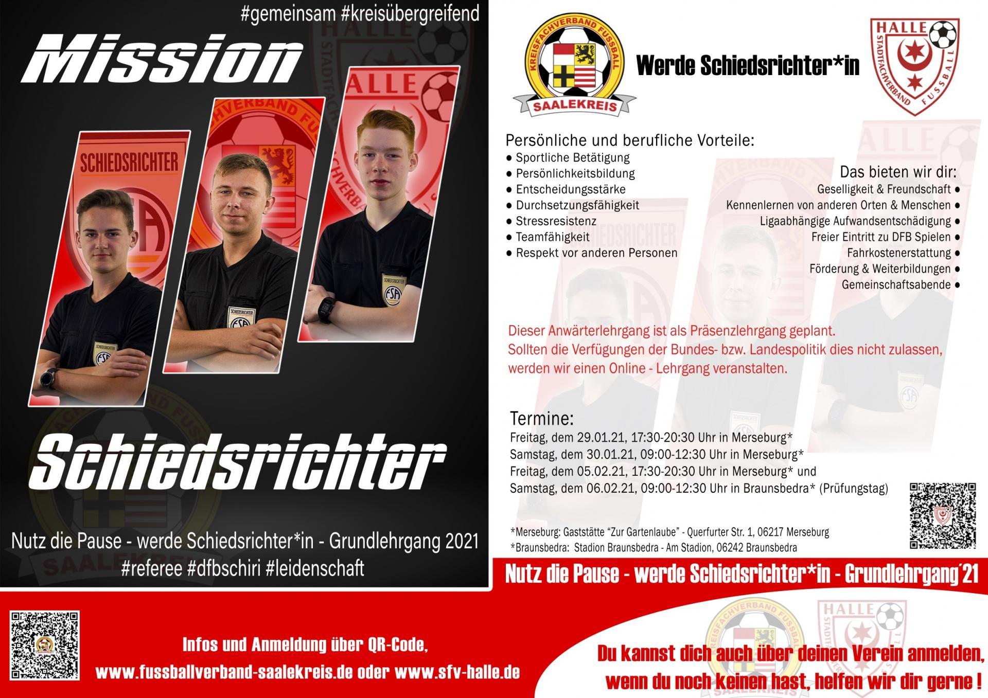 Mission Schiedsrichter 2021