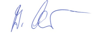 Unterschrift BM