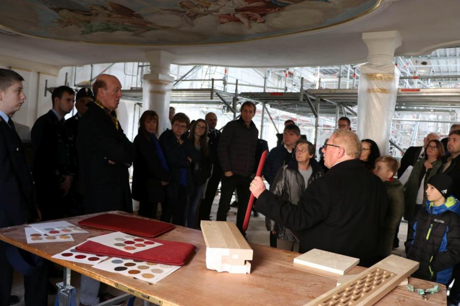 Sanierung Pfarrkirche Blaibach 2019 3