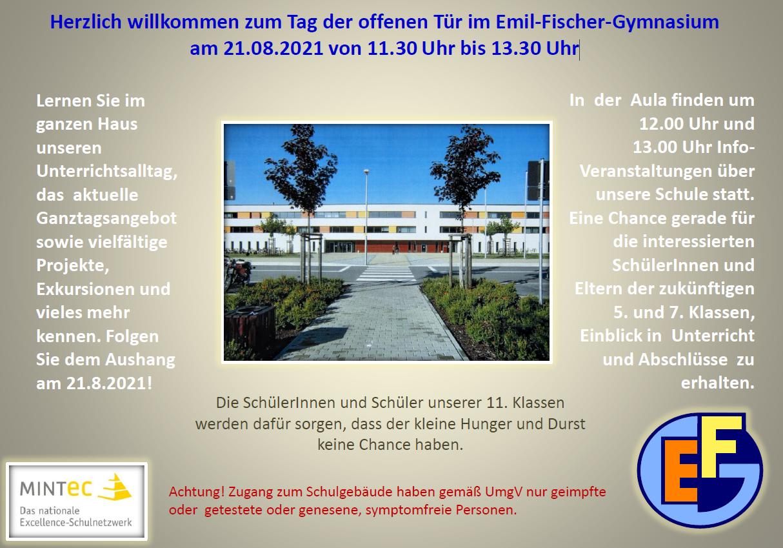Tag der offenen Tür im Emil-Fischer-Gymnasium Schwarzheide