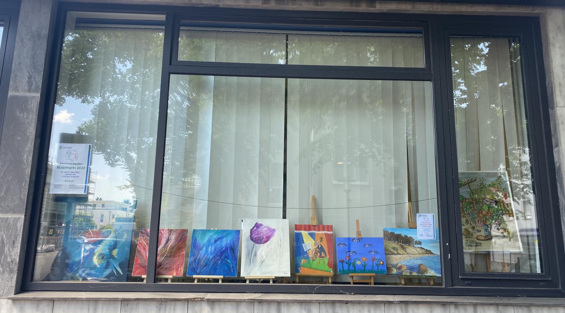Fensterdeko Malermarkt