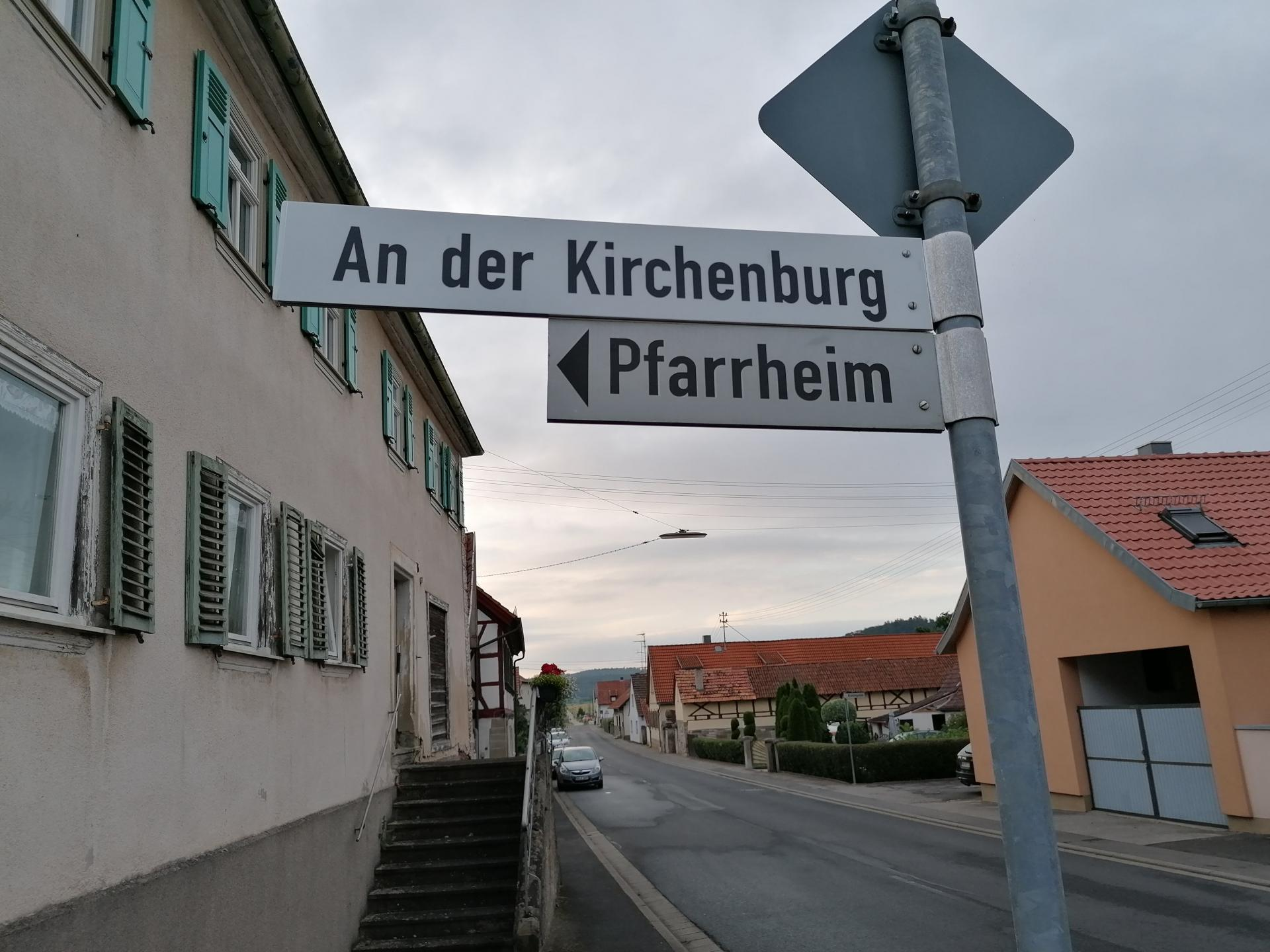 An der Kirchenburg