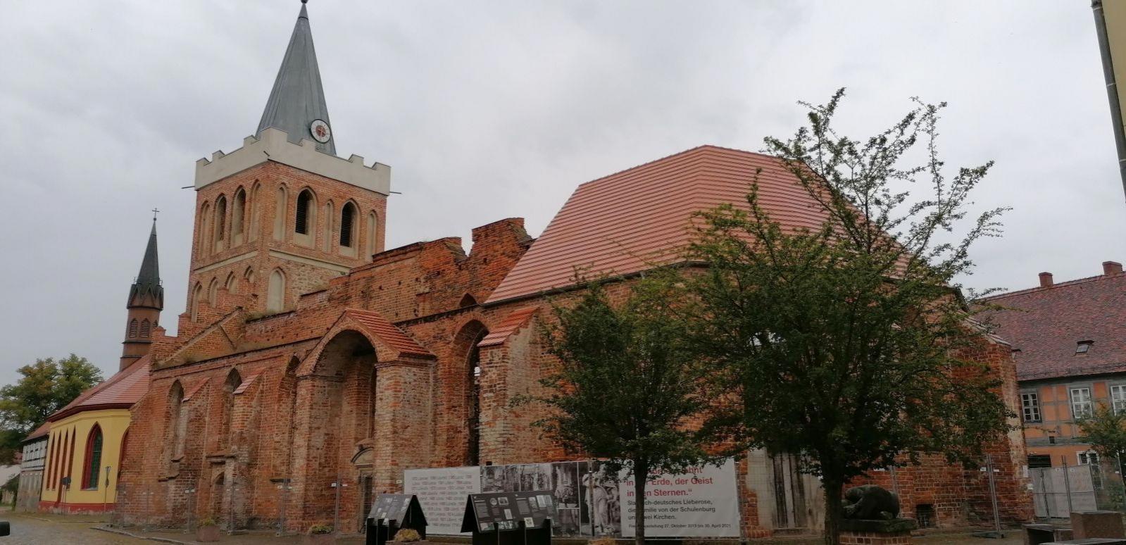 Die Stadtkirche in Lieberose. Foto: Dörthe Ziemer