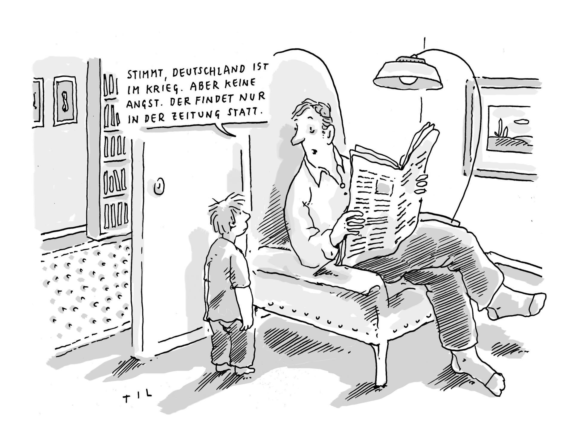 Karikatur von Til Mette 2020