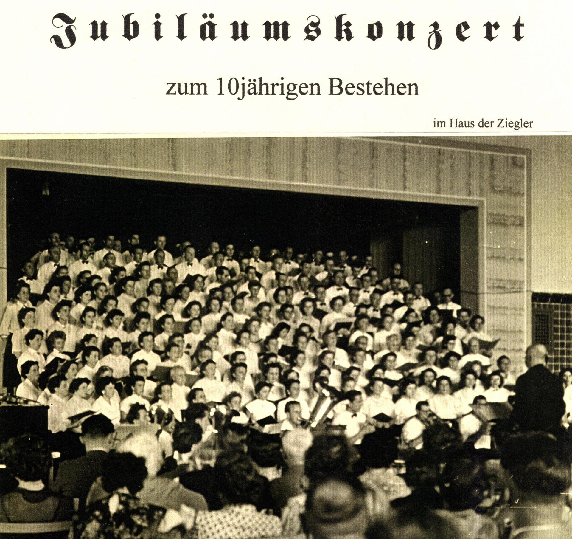 1956 Jubiläumskonzert Haus der Ziegler 1/2