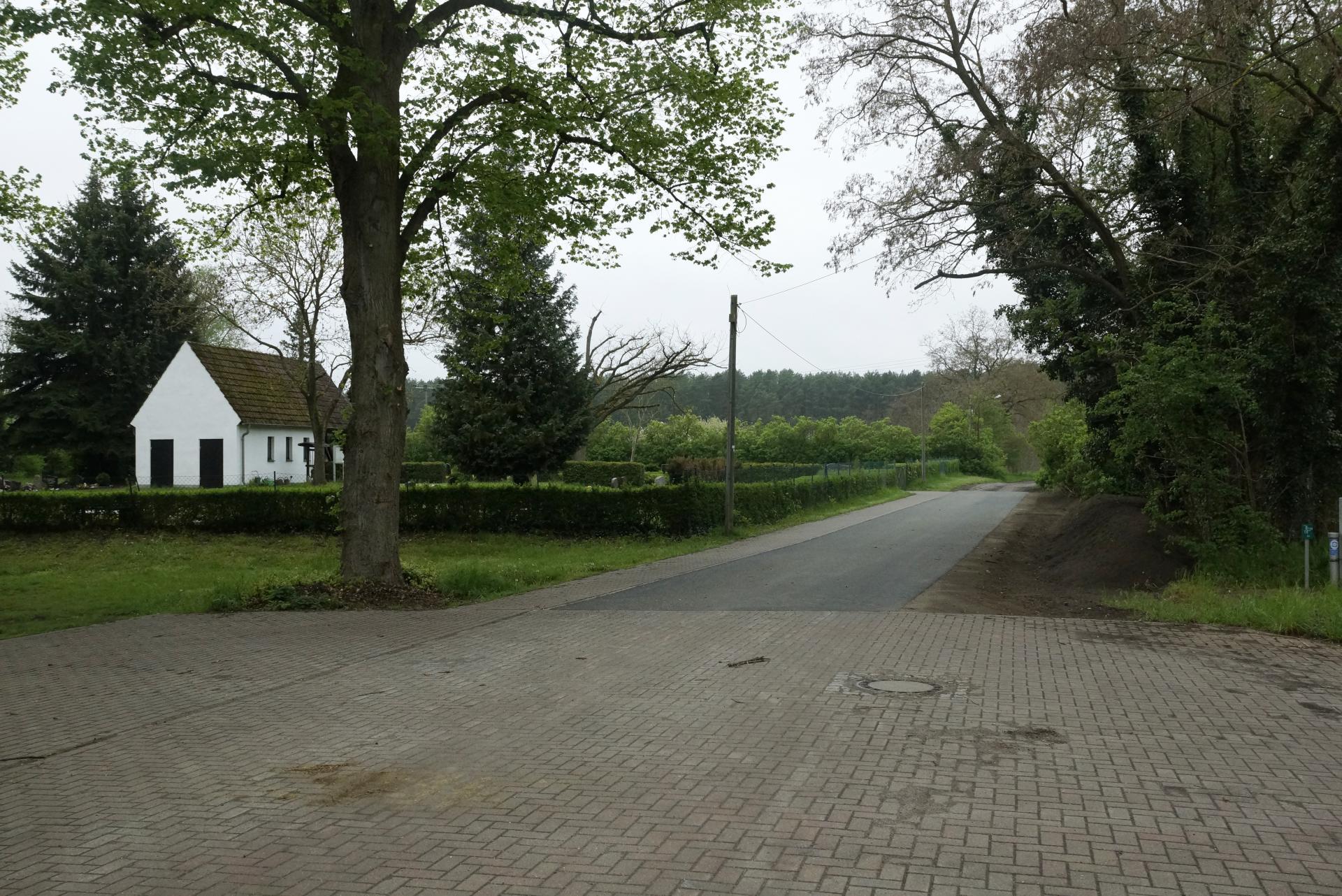Alte Chaussee in Hohenofen