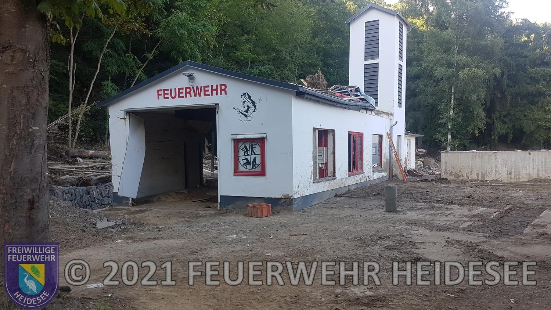 Das Gerätehaus der Feuerwehr Kreuzberg