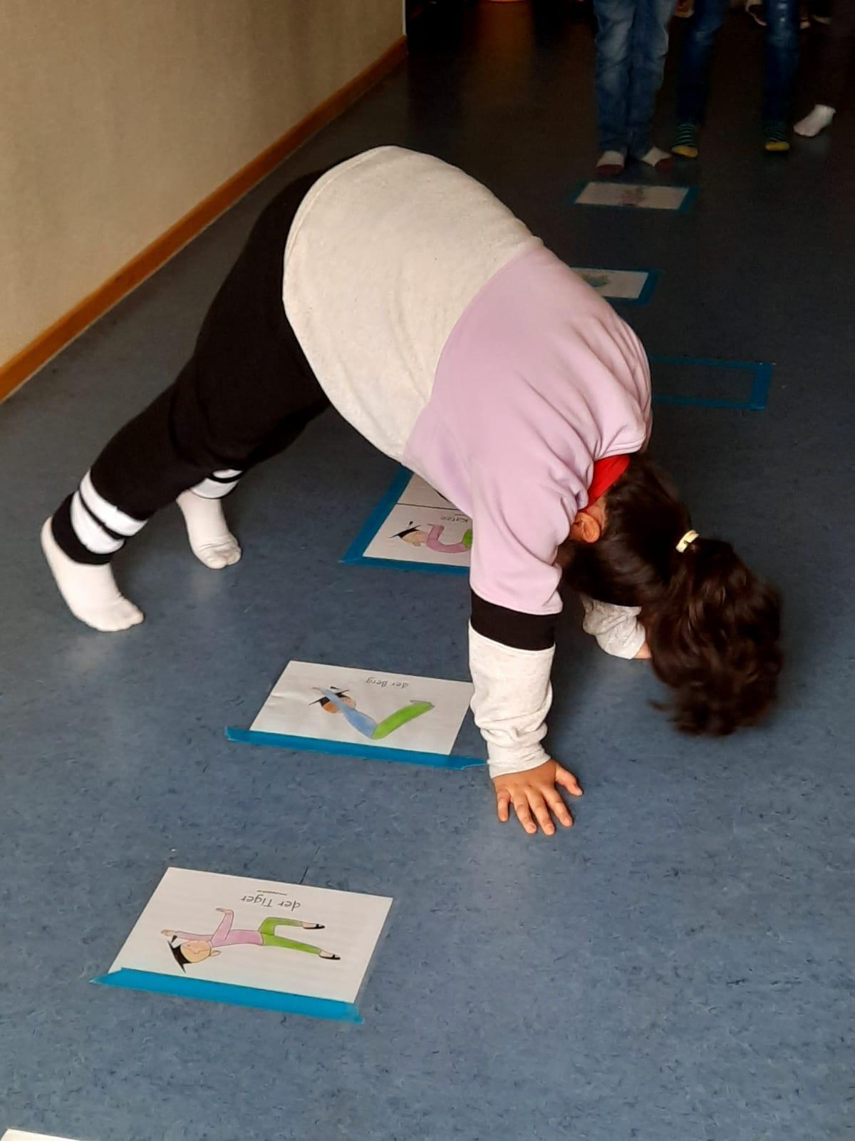 Yoga-Parcours