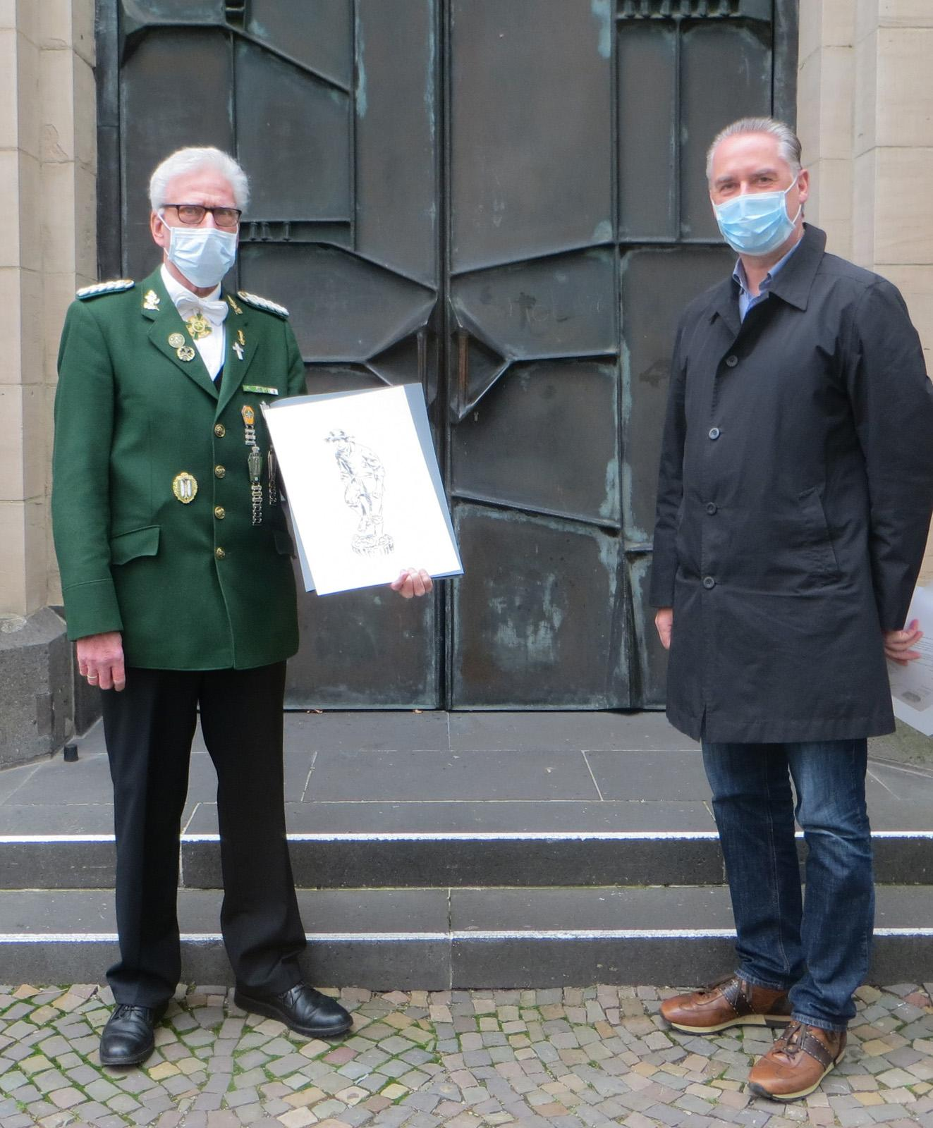 W. Kuntz 60 Jahre Mitglied im Heimatverein Bardenberg