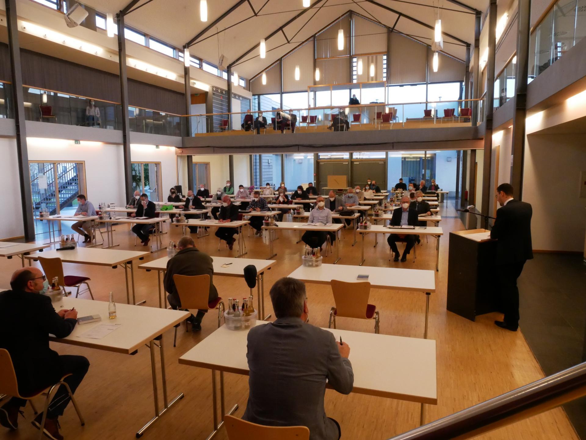 Konstituierende Sitzung der Gemeindevertretung der Gemeinde Großenlüder
