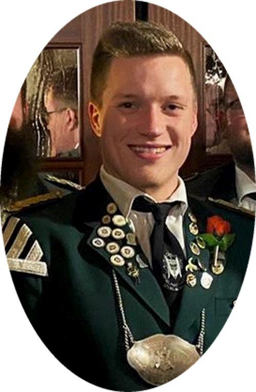 2020-Jungschützenstadtkönig Lennard Bröhan aus Ovelgönne