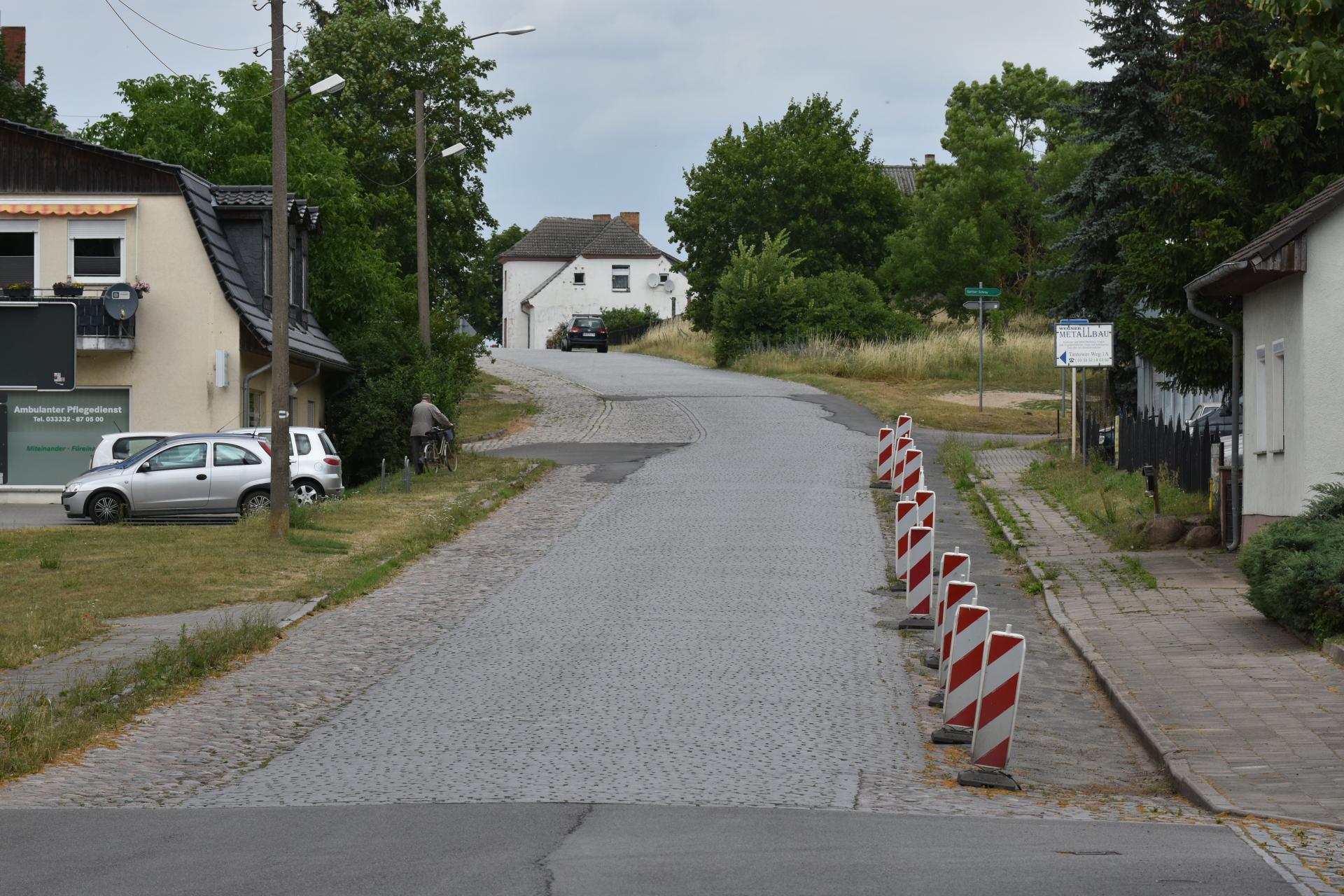 Ortsdurchfahrt Gartz (Oder)