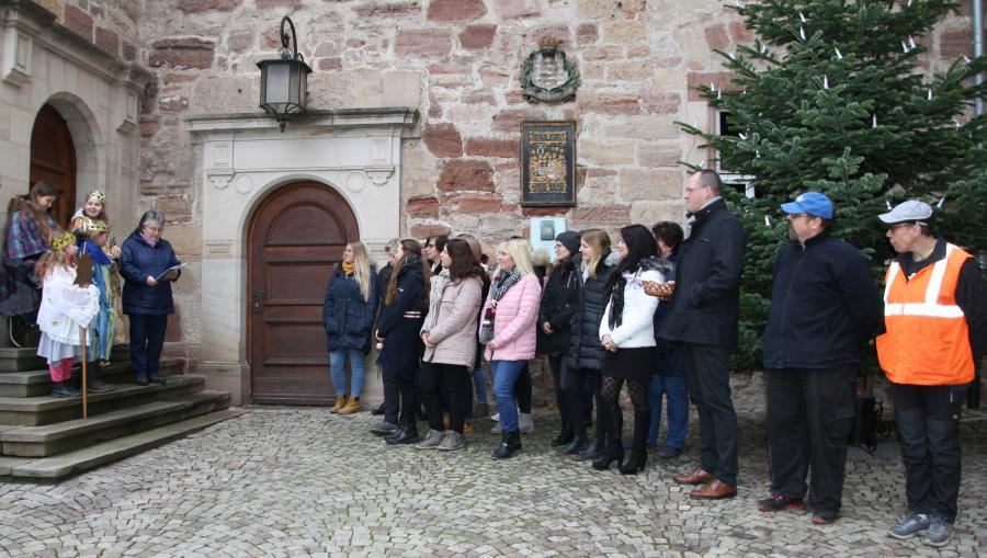 Sternsinger besuchten das Landratsamt