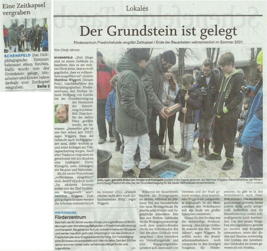 Schenefelder Tageblatt 16.12.19