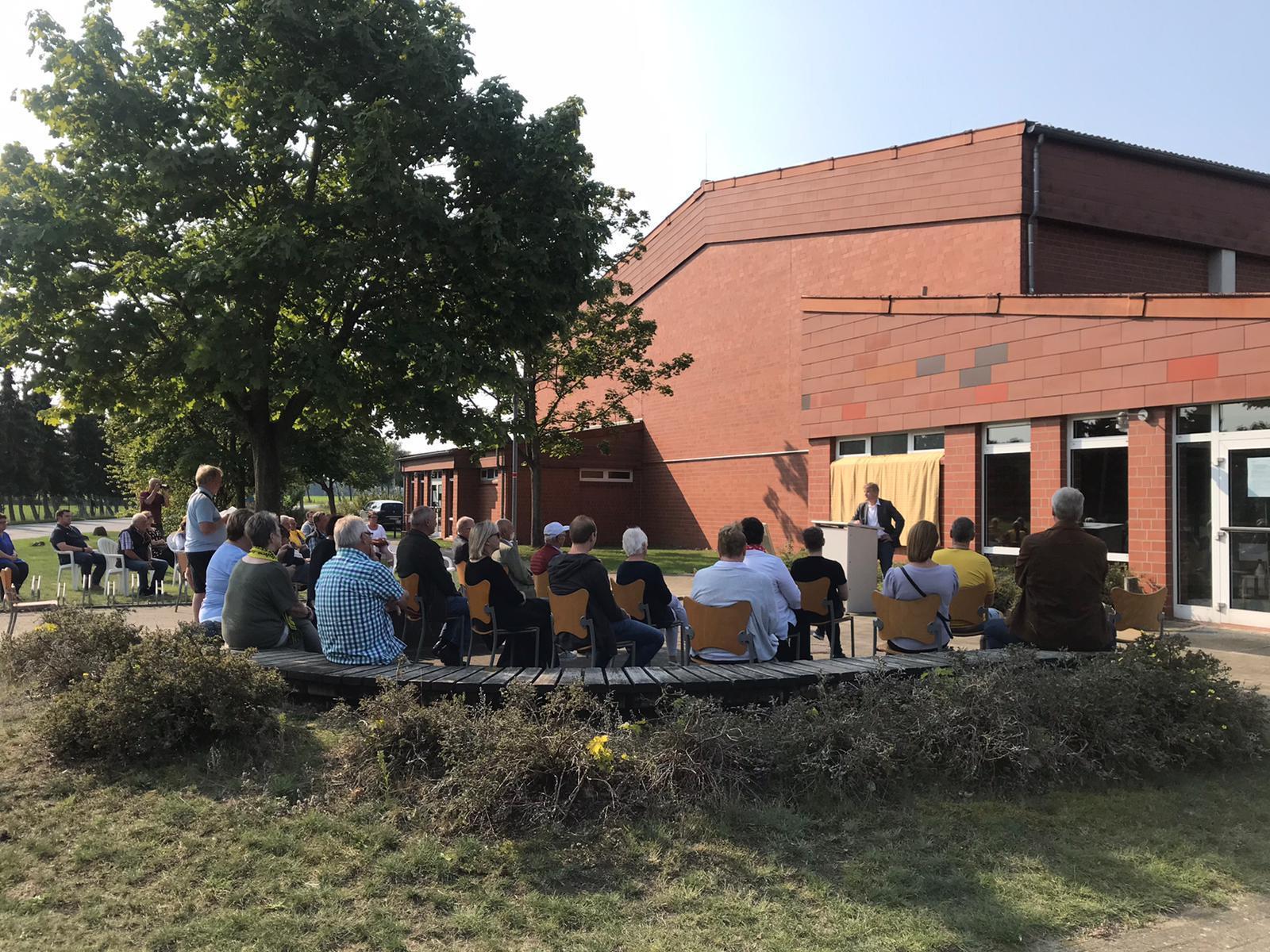 Festakt Hugo-Priebe-Halle