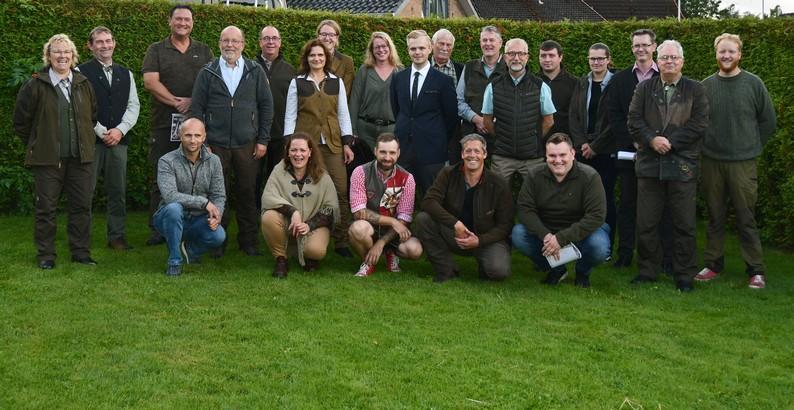 Jungjägerkursus 2020-21 Gruppenfoto