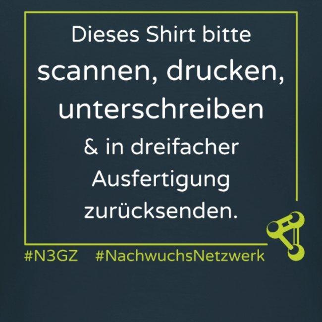 Bitte ausdrucken und scannen  - aus der Kollektion des N3GZ.
