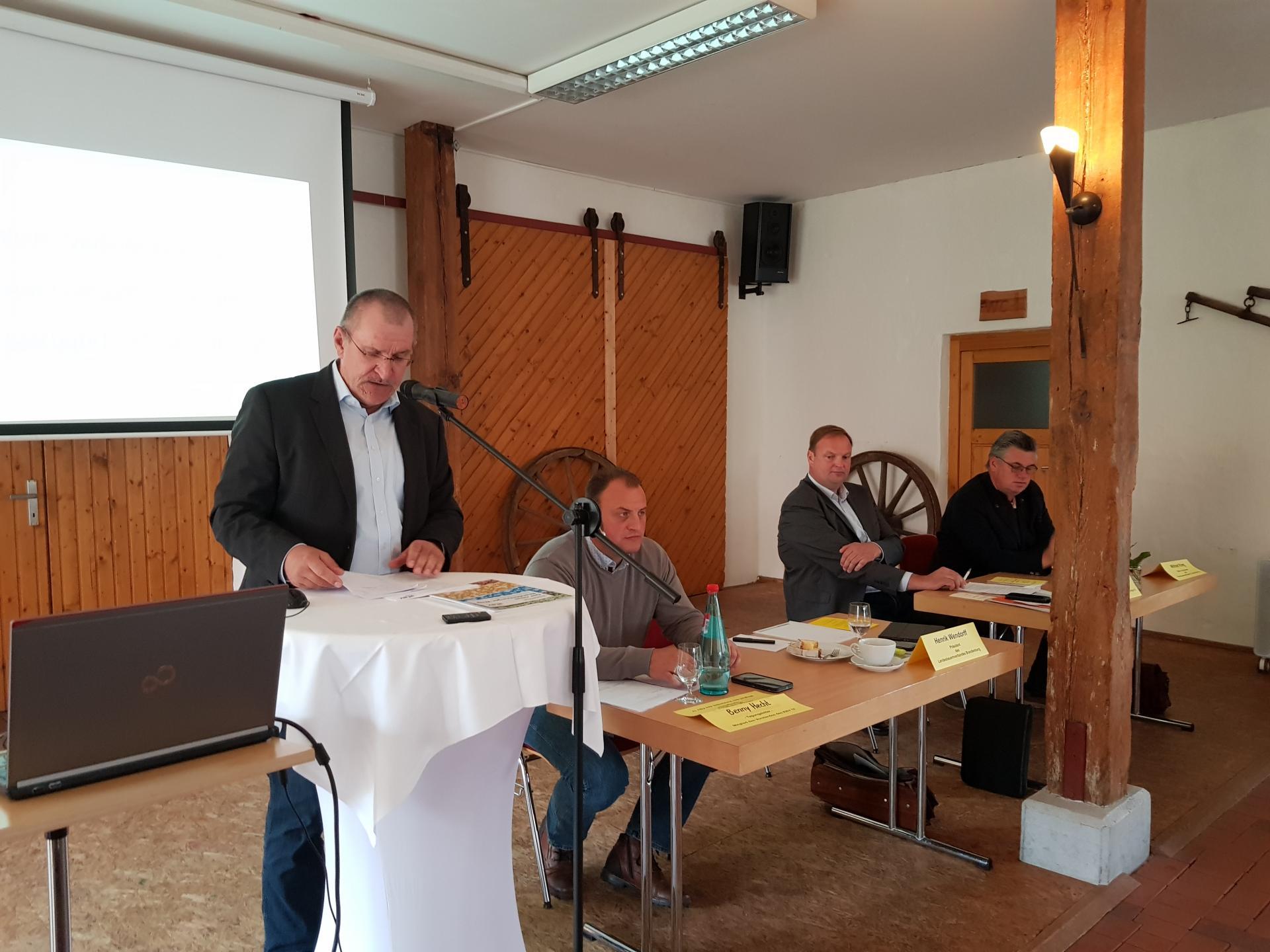Redner Herik Wendorff