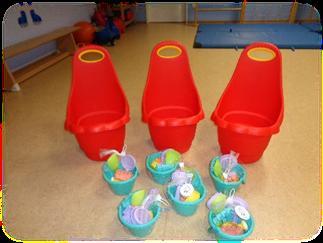 Spielzeugkarren mit Sand-Set