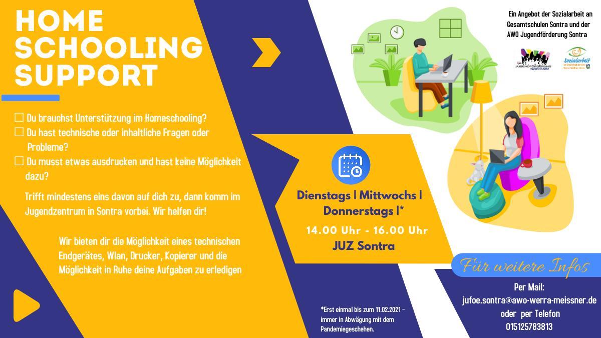 Homeschooling Support Flyer