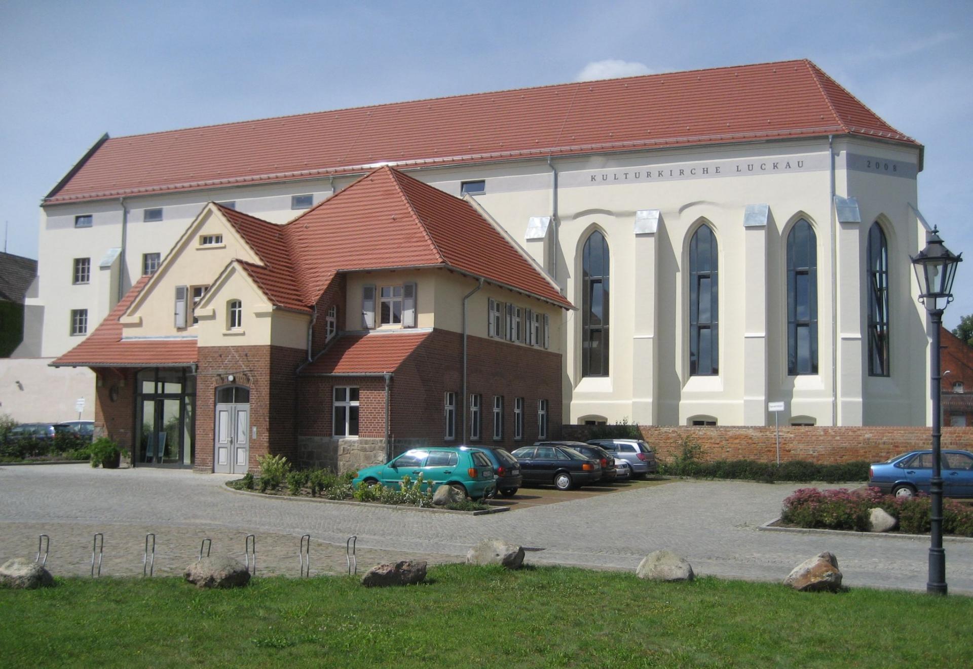 Kulturkirche Luckau mit Niederlausitz-Museum. Foto: Kulturkirche
