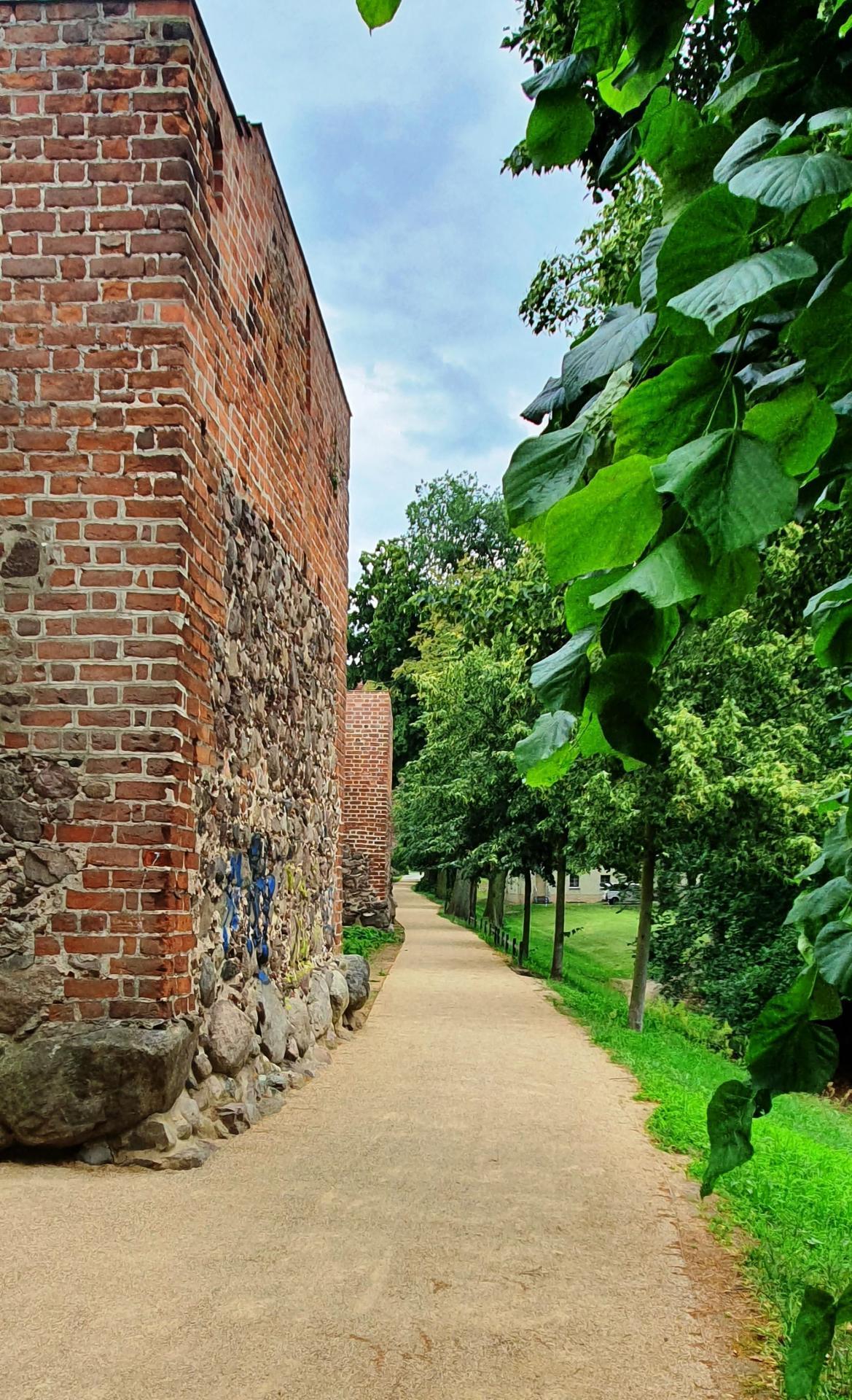 Wegedecke Stadtmauer