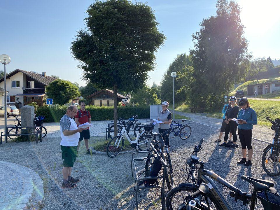Jakobsweg-Radlwallfahrt Miltach 2021 1