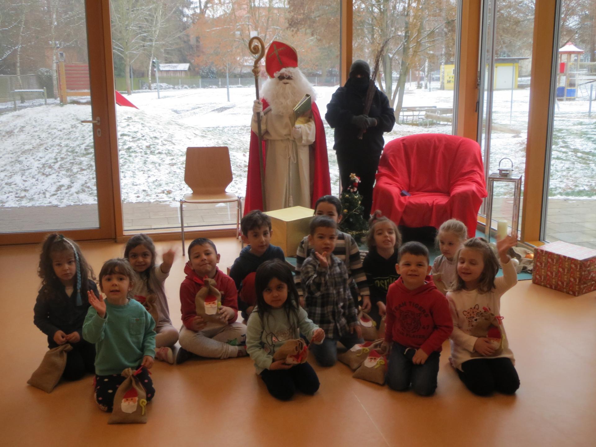 Hoher Besuch im Kindergarten Abenteuerland