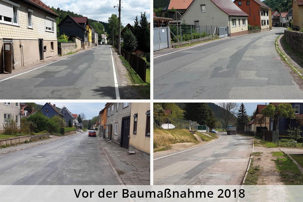 Liebenstein-Baumaßnahme-Strassenerneuerung_vorher
