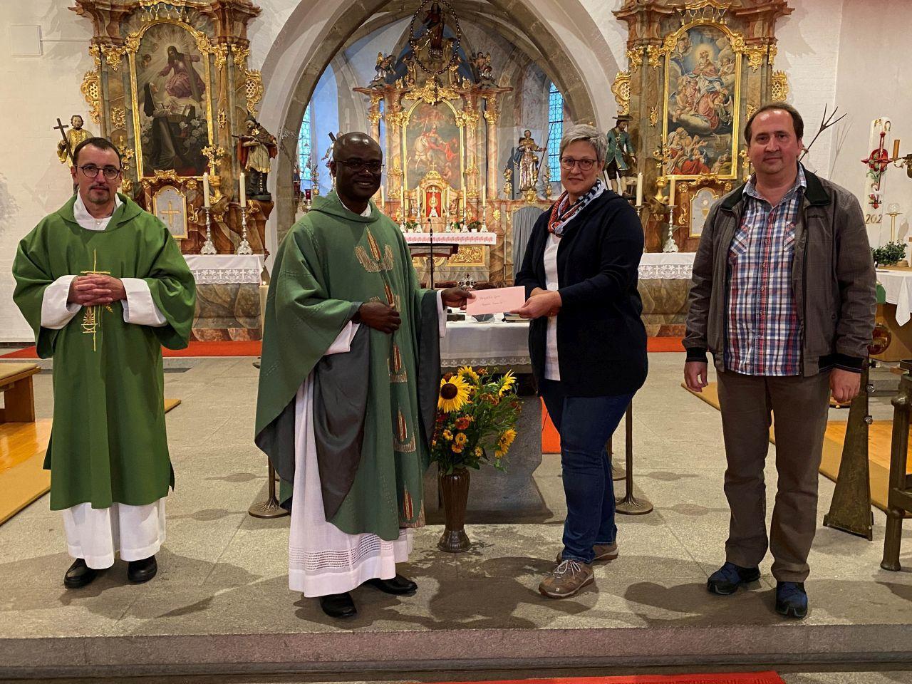 Verabschiedung Pfarrer Francis Miltach