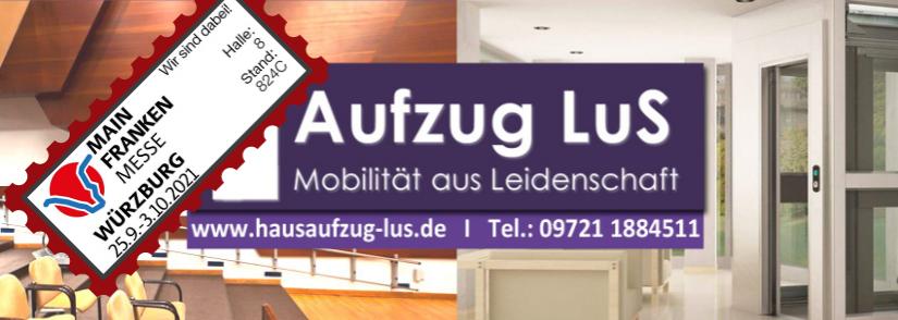 Aufzug LuS auf der Mainfranken-Messe Würzburg in Halle 8, 824c