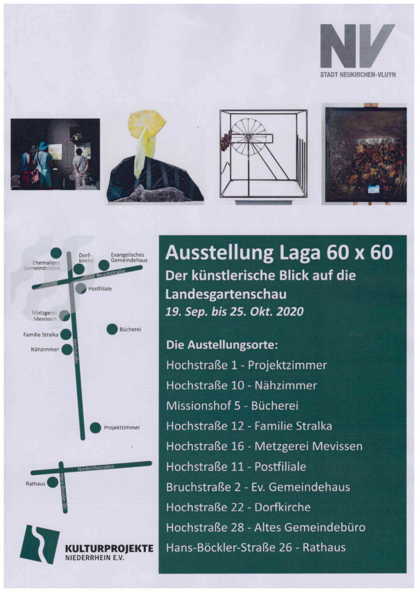 Ausstellungsplan