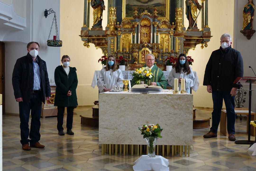 Glückwünsche Monsignore Blaibach 7