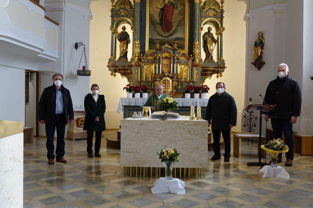 Glückwünsche Monsignore Blaibach 8