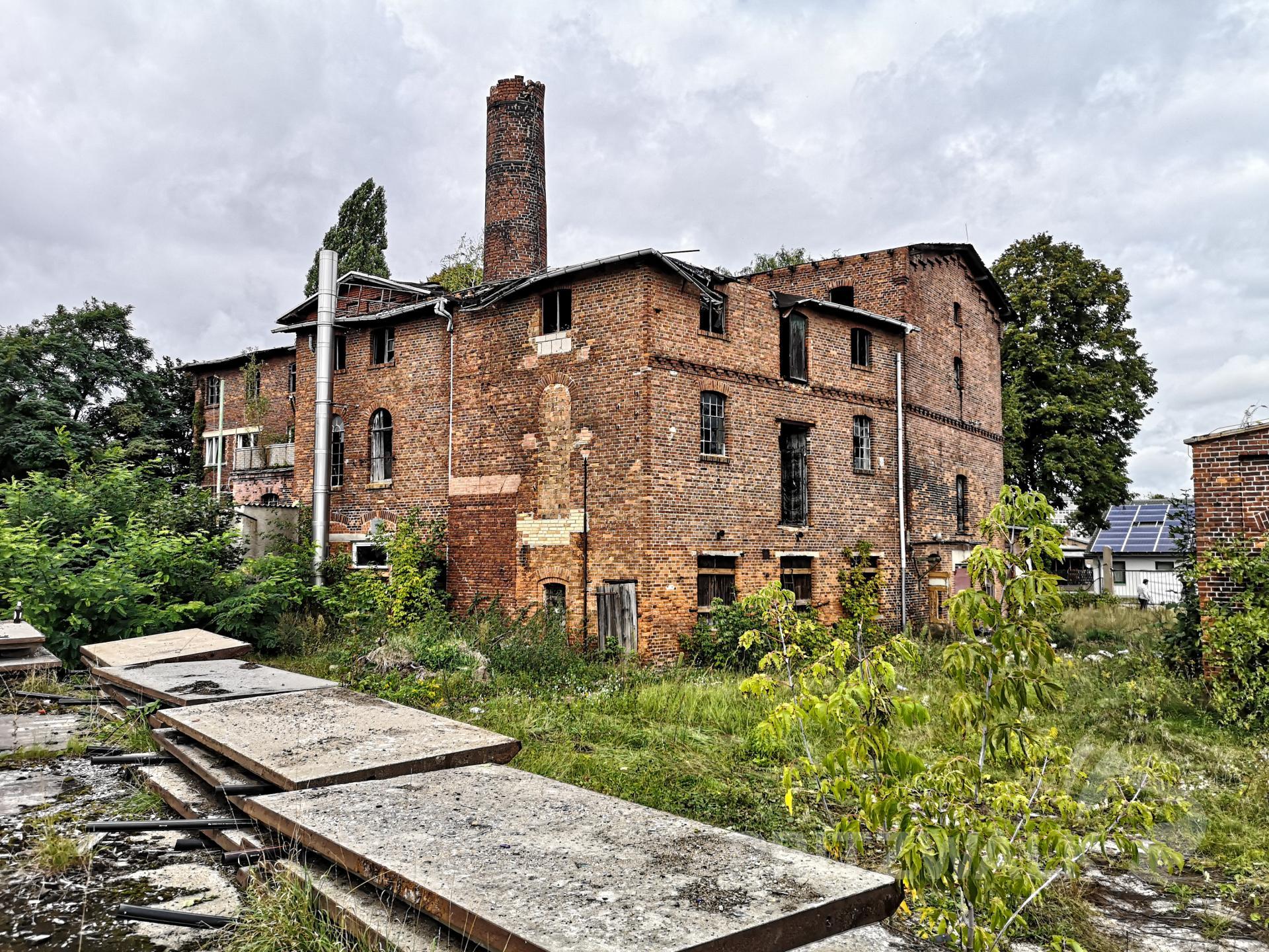 Die Alte Brennerei wird von der Stadt Pritzwalk zum Kauf angeboten. Foto: Beate Vogel