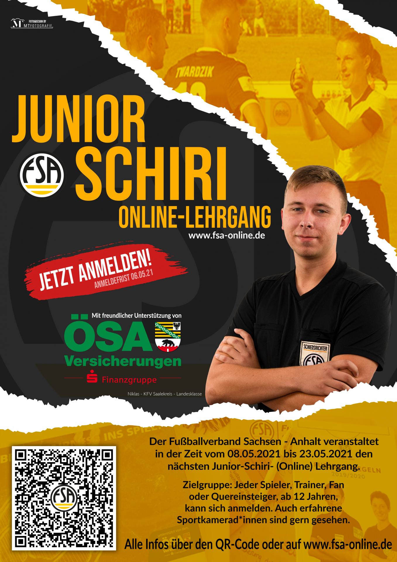FSA Junior Schiri-Lehrgang 2021