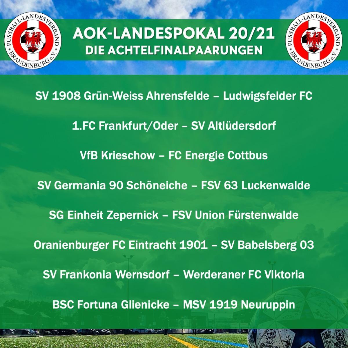 Achtelfinale Landespokal 2020_21