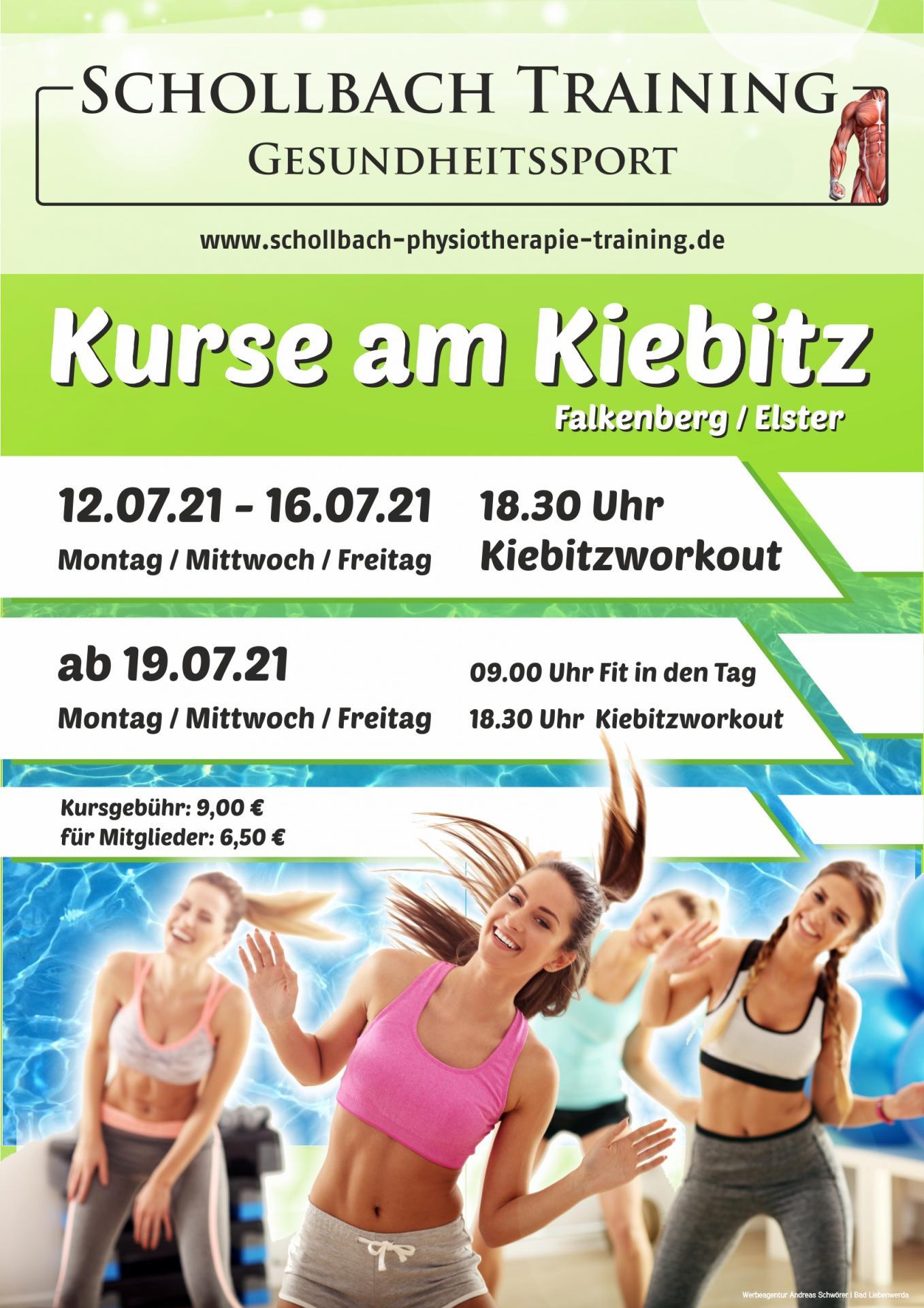 Plakat Kurse Kiebitz