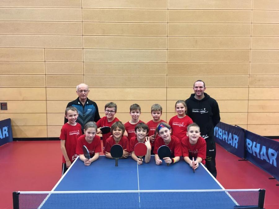 Tischtennismannschaft 2019