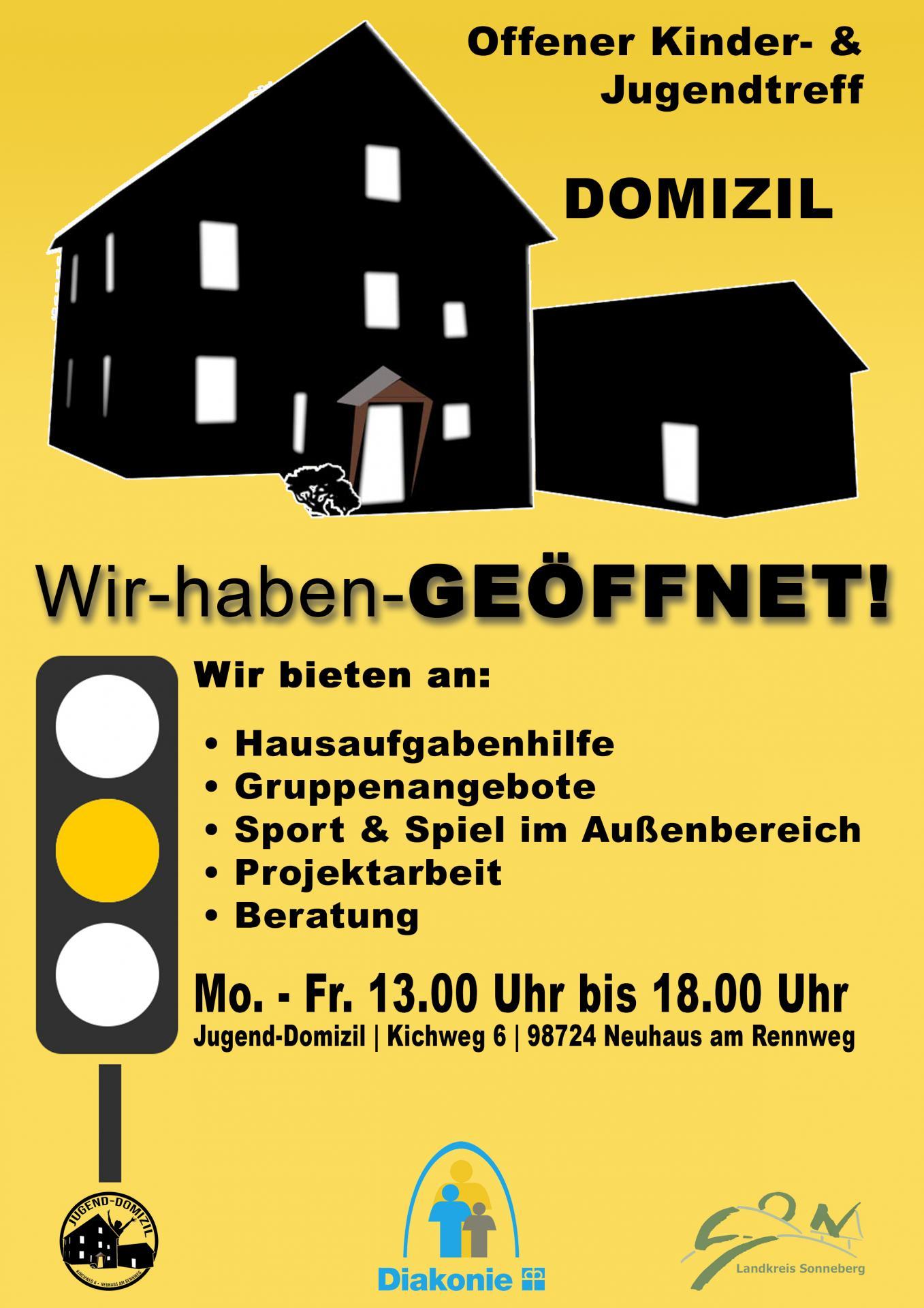 Jugendhaus Phase Gelb Juni 2021