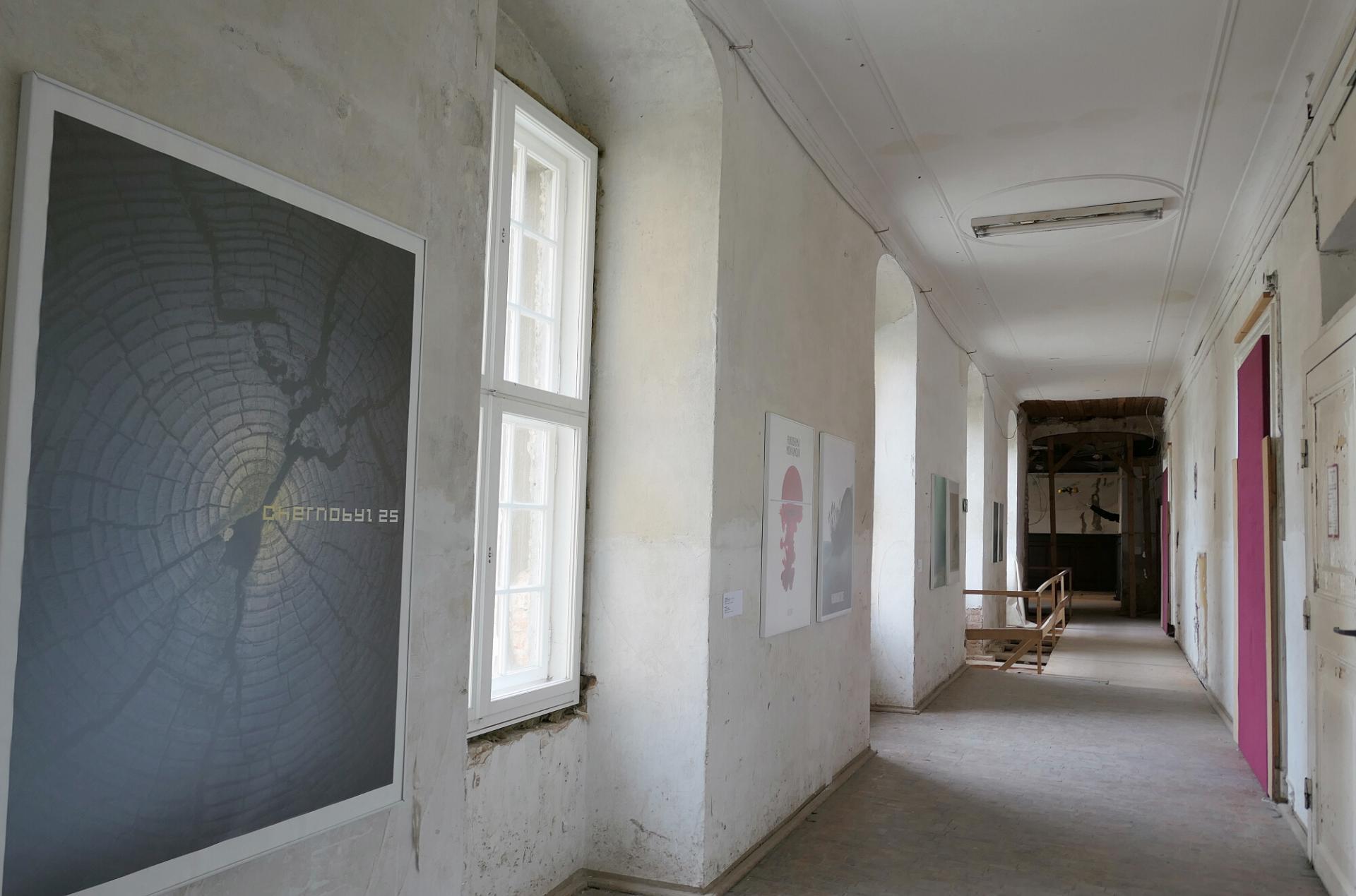 Im Obergeschoss werden Plakate aus der Sammlung des BLMK Cottbus gezeigt. Foto: Ingrid Hoberg