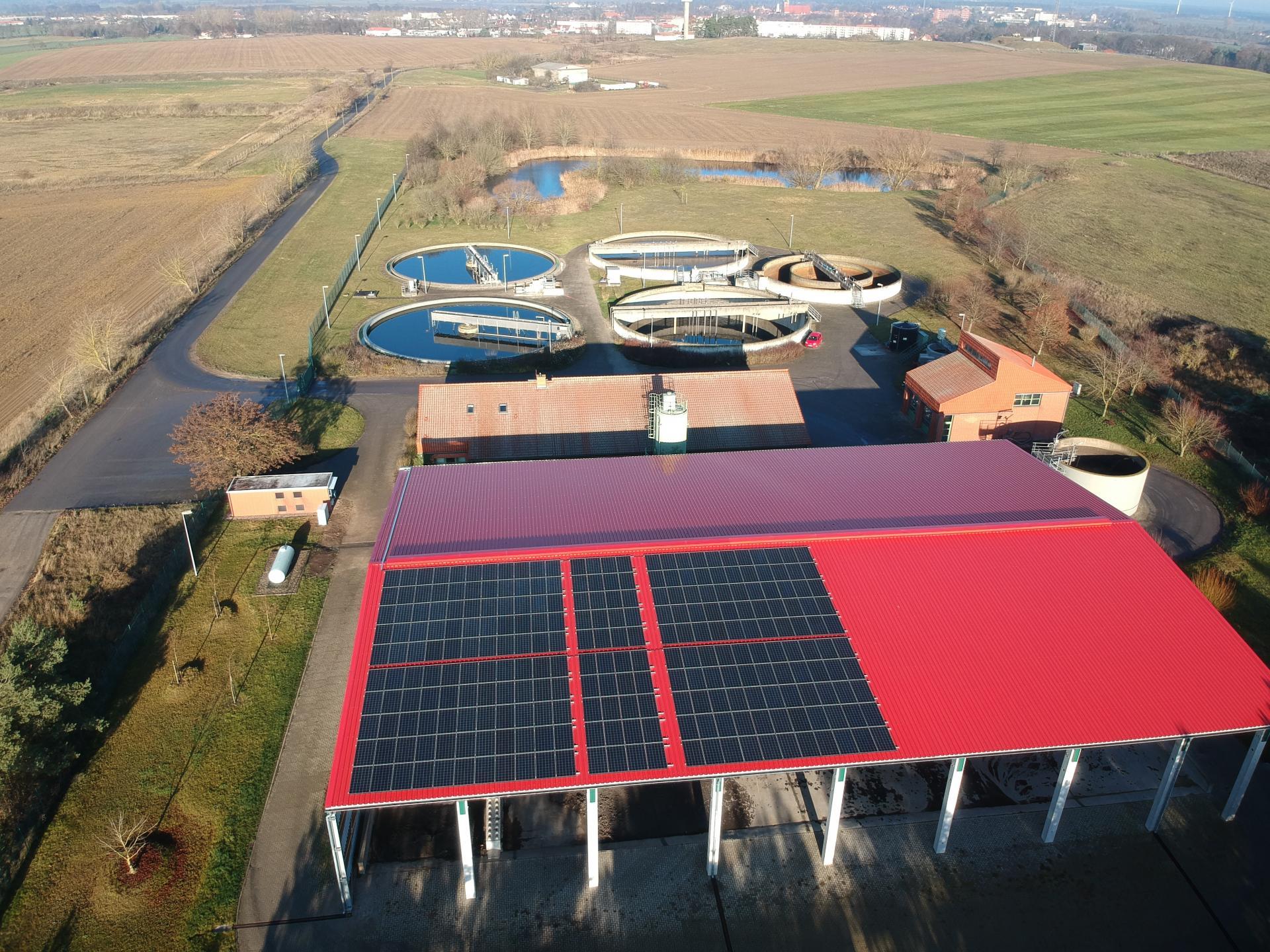Photovoltaikanlage_Kläranlage Wittstock