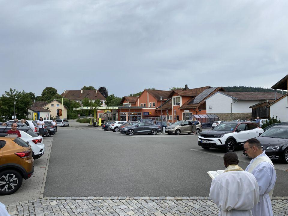 Fahrzeugsegnung Miltach 2021 2