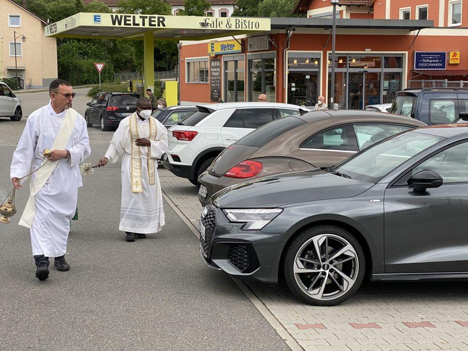 Fahrzeugsegnung Miltach 2021 3