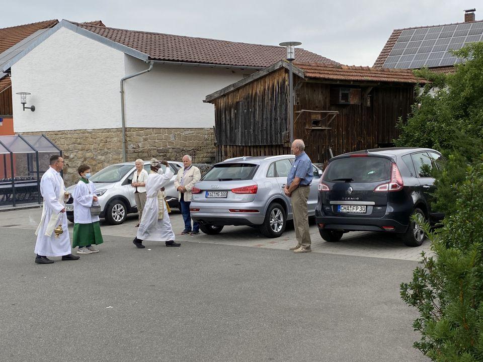 Fahrzeugsegnung Miltach 2021 4
