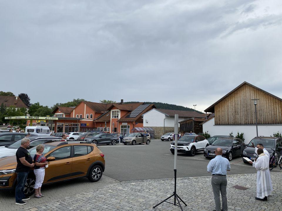Fahrzeugsegnung Miltach 2021 6
