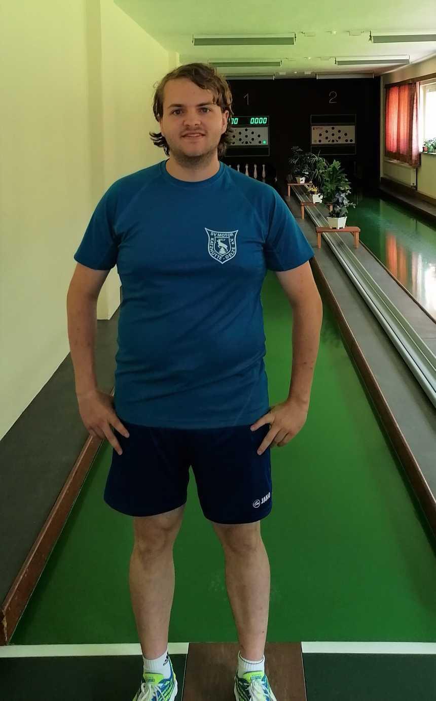 Mannschaftsleiter Manuel Zellmer