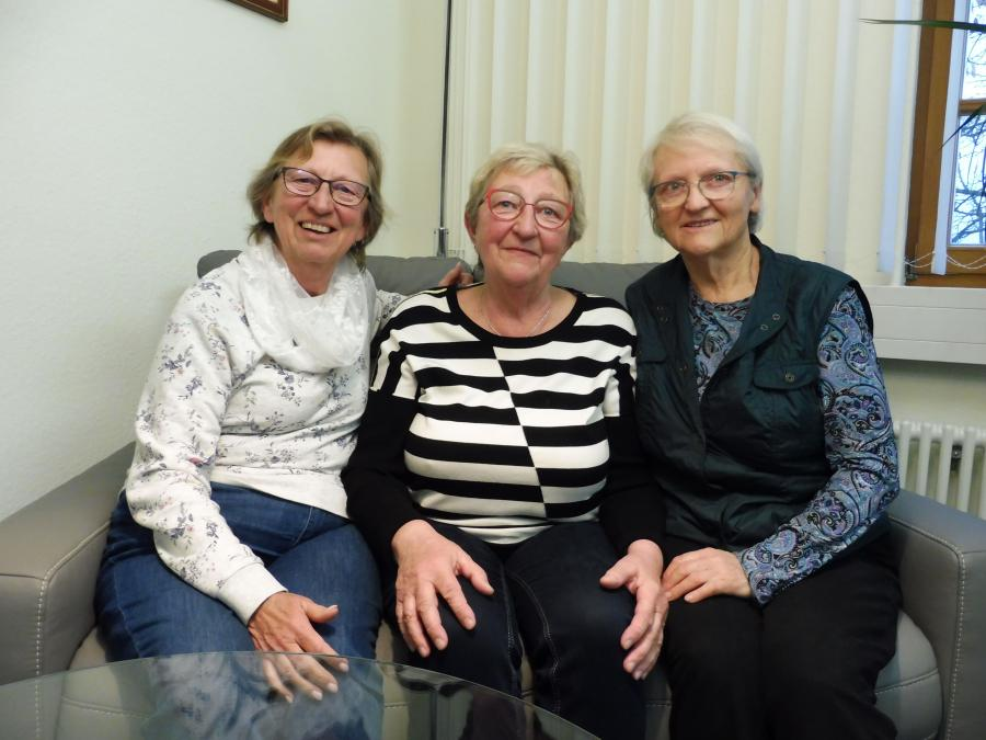 Vertreterinnen des Seniorenbeirats der Stadt Brück