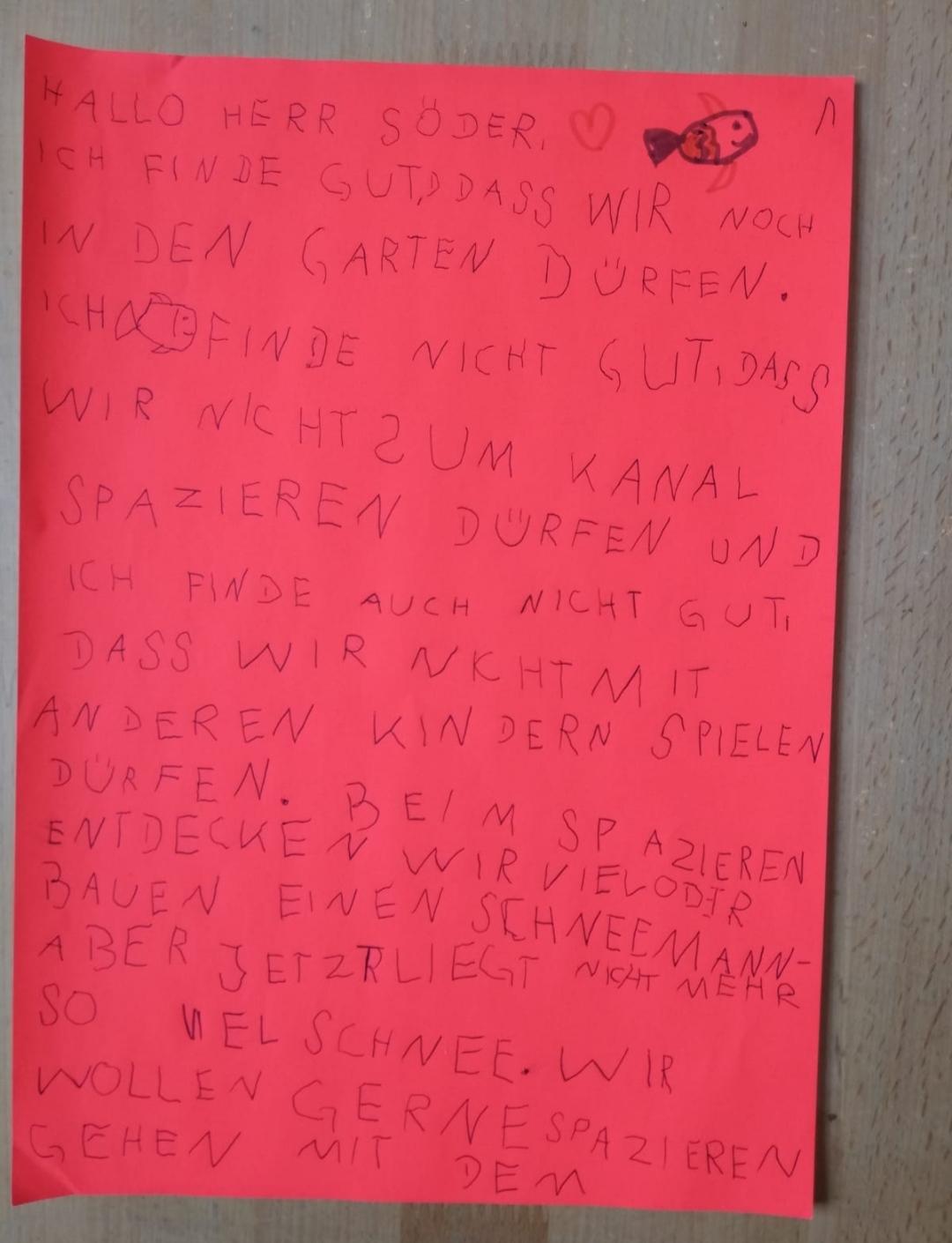 Brief an Herrn Söder 1