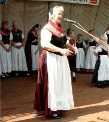 S. Nissen beim Sommerfest 2005